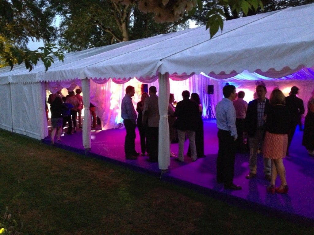New forest party marquee buchannan marquees