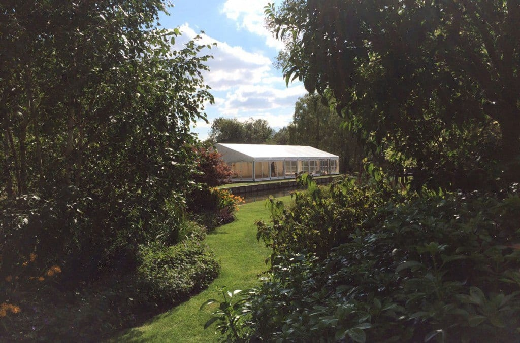 Raising & Levelling Marquees for Sloping Sites | Buchannan